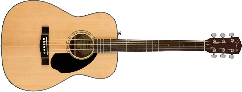 アコースティックギターの例