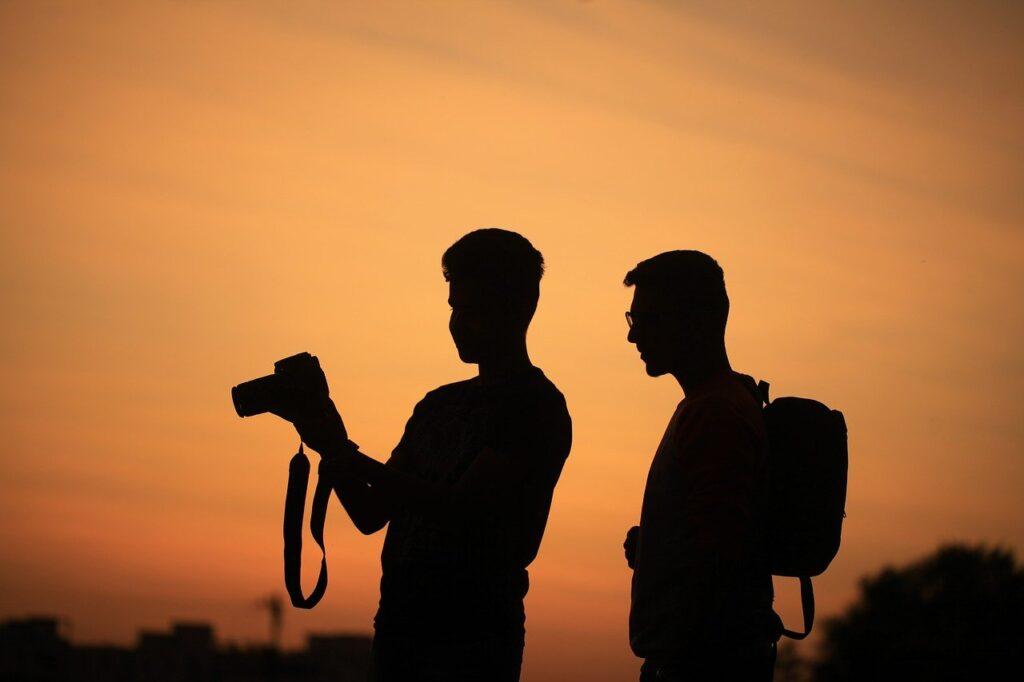 カメラマンの画像